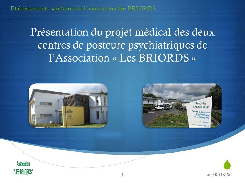 Etablissements sanitaires de l'association des BRIORDS