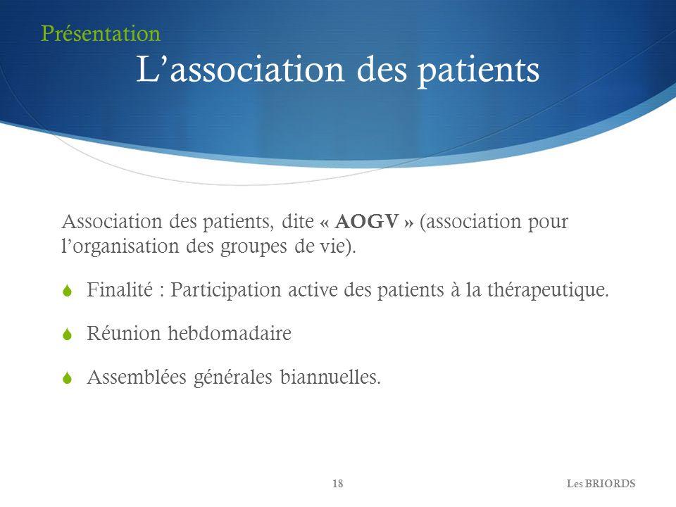 L'association des patients