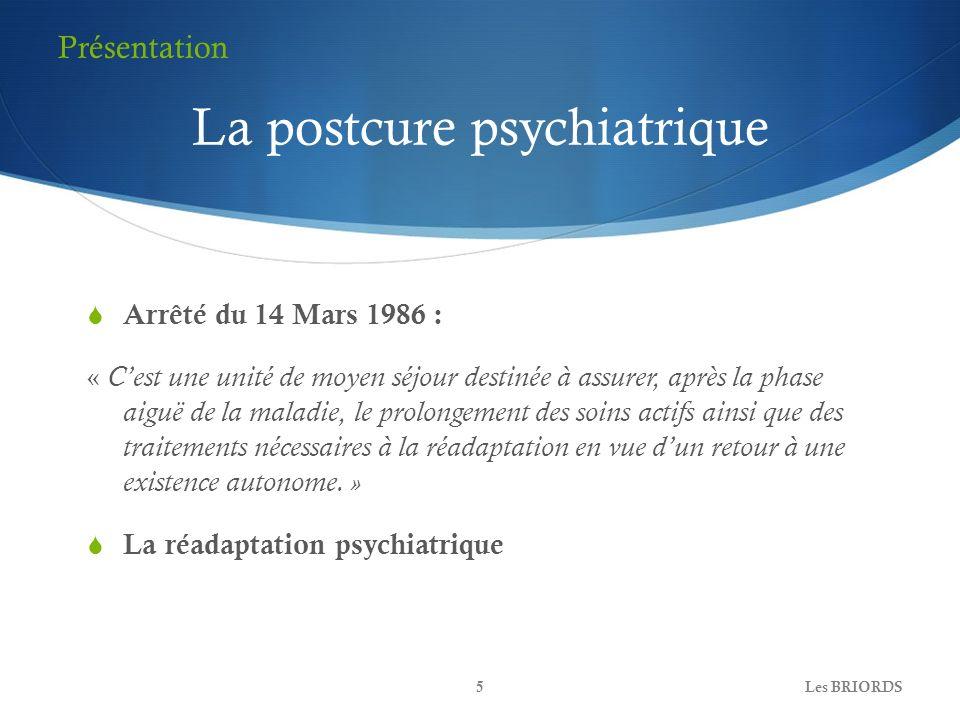 La postcure psychiatrique
