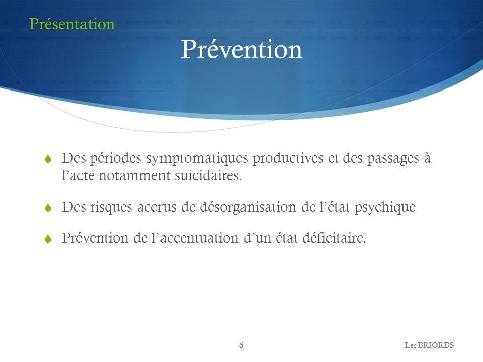 Prévention Présentation