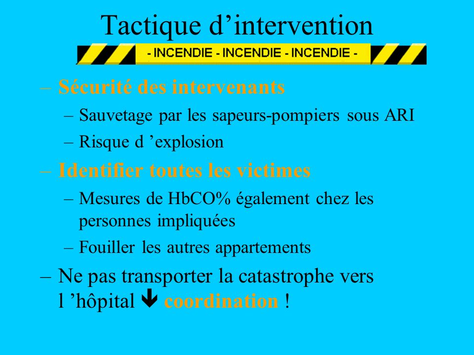 Tactique d'intervention