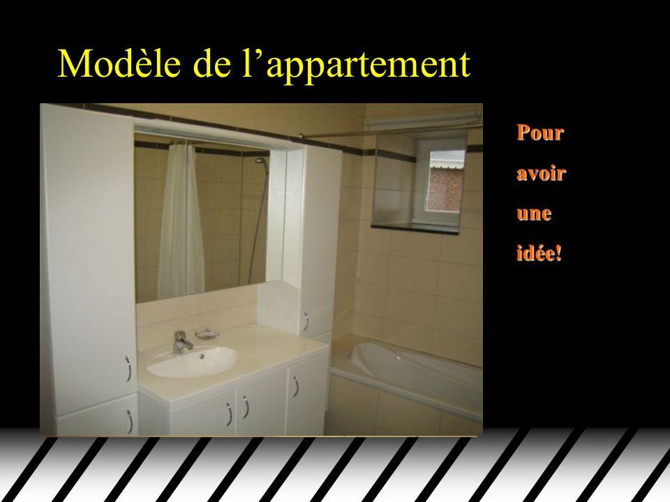 Modèle de l'appartement