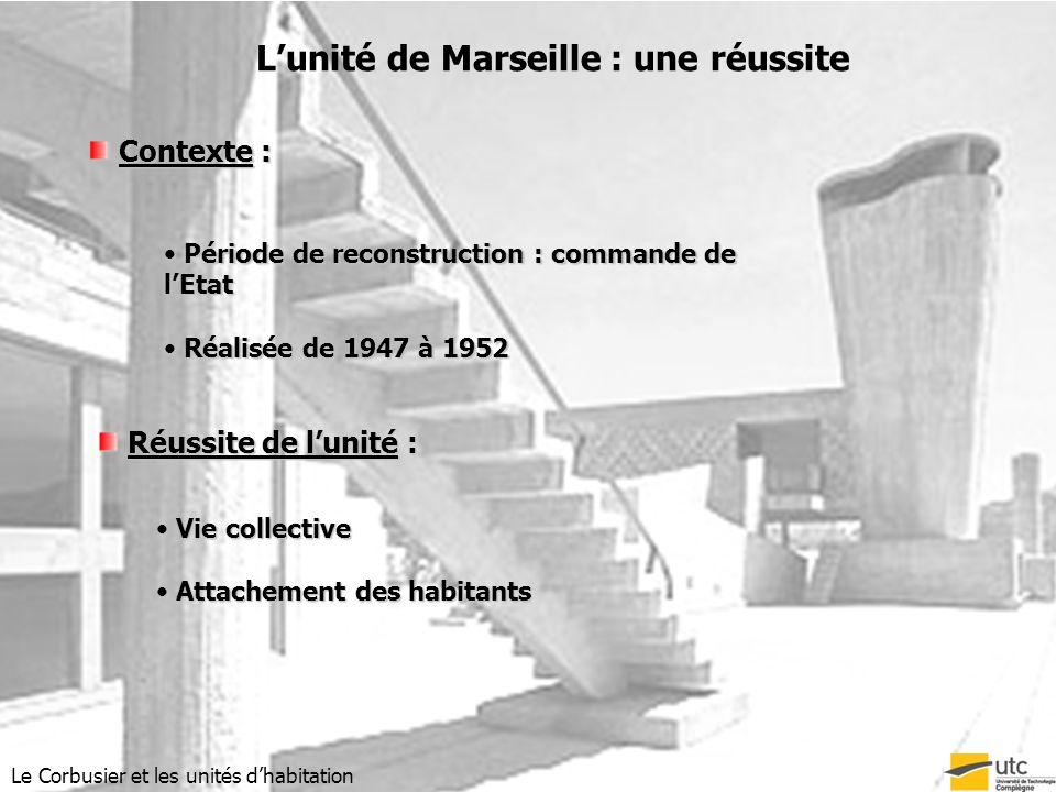 L'unité de Marseille : une réussite