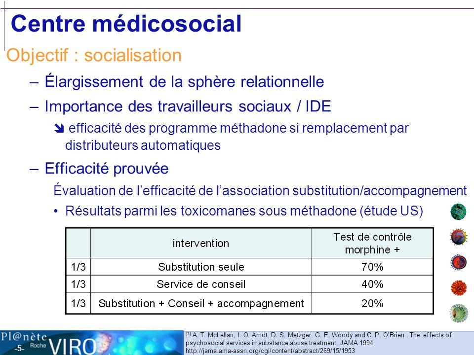 Centre médicosocial Objectif : socialisation