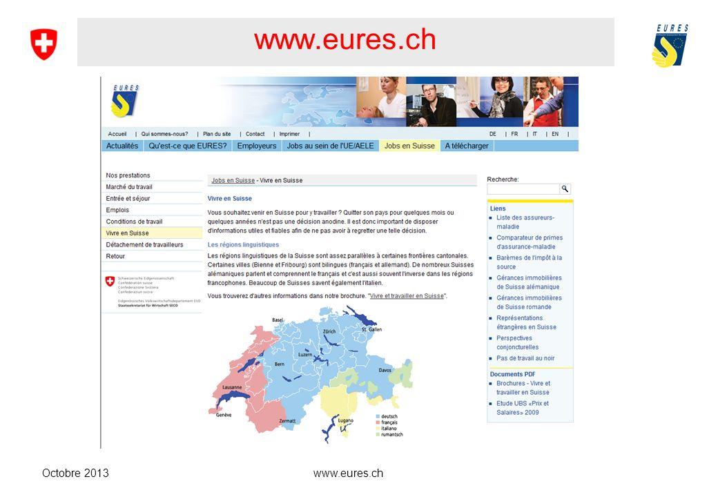 www.eures.ch Buna Furtüna ! Bonne chance ! Good luck ! Viel Glück !