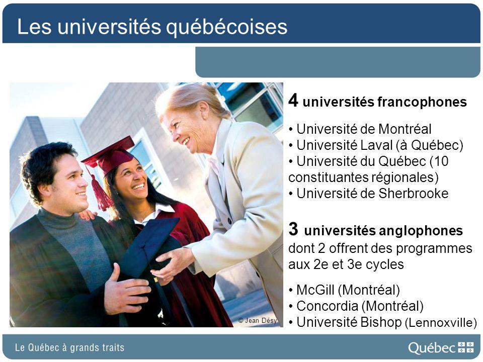 Les universités québécoises