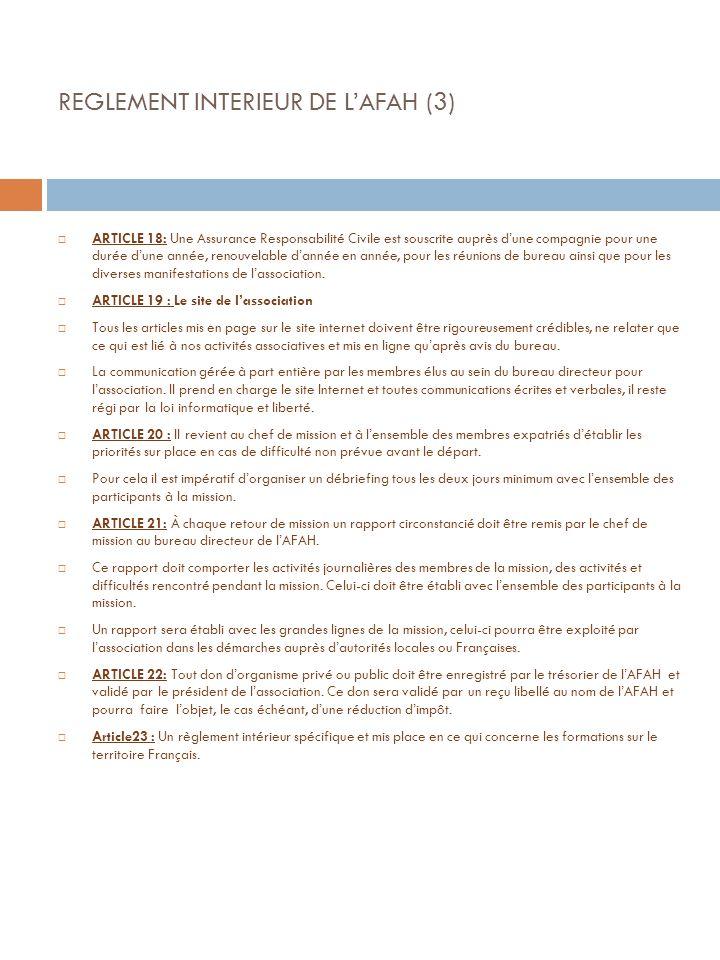 REGLEMENT INTERIEUR DE L'AFAH (3)