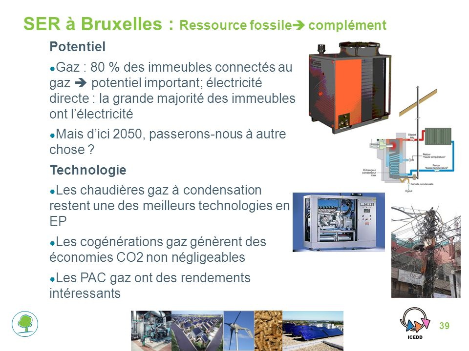 SER à Bruxelles : Ressource fossile complément