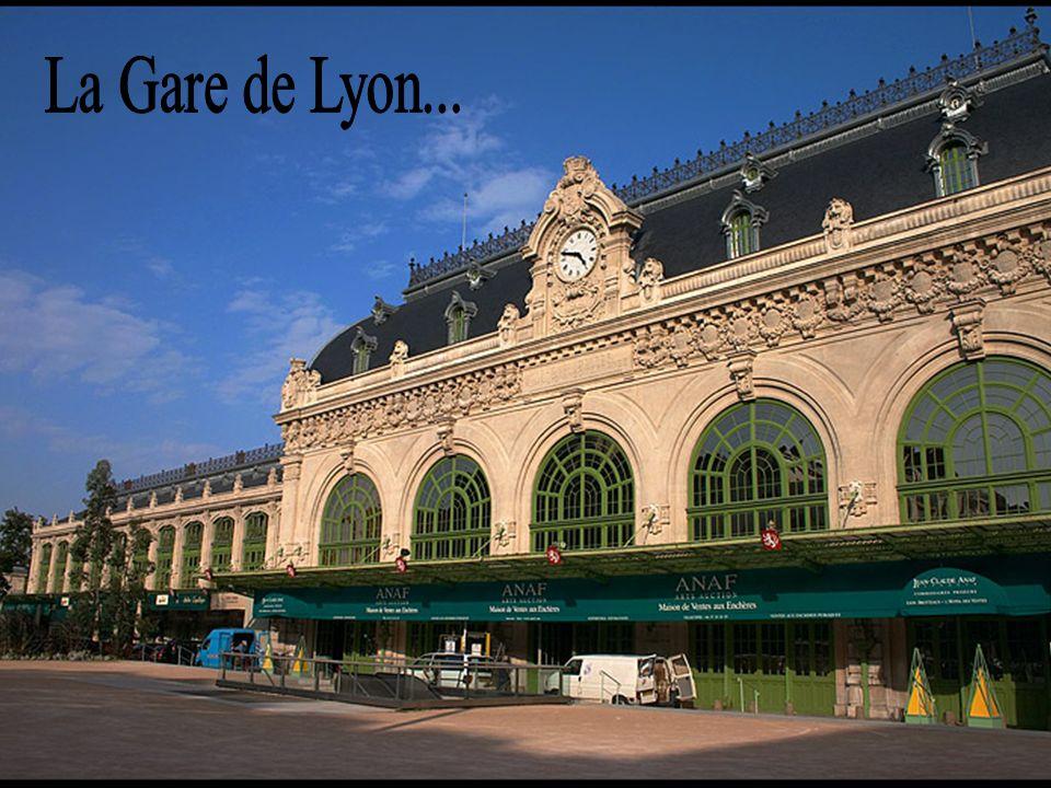 La Gare de Lyon...