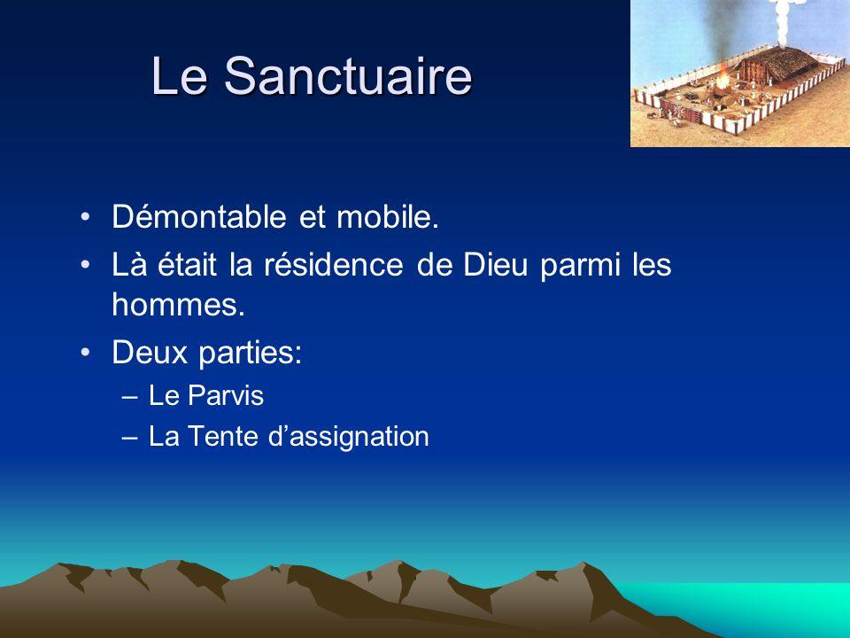 Le Sanctuaire Démontable et mobile.
