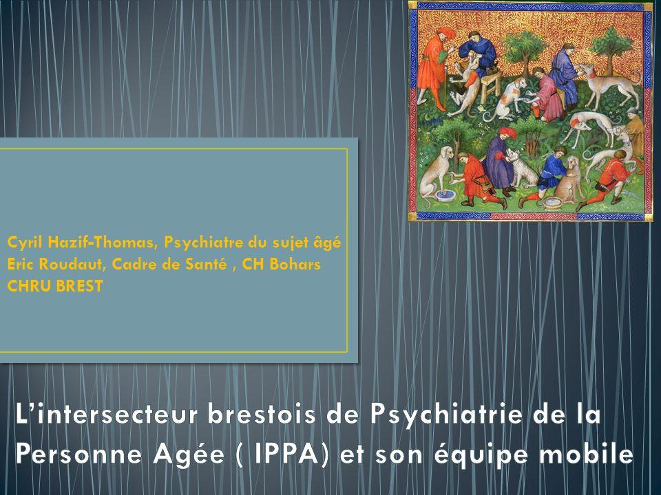 Cyril Hazif-Thomas, Psychiatre du sujet âgé