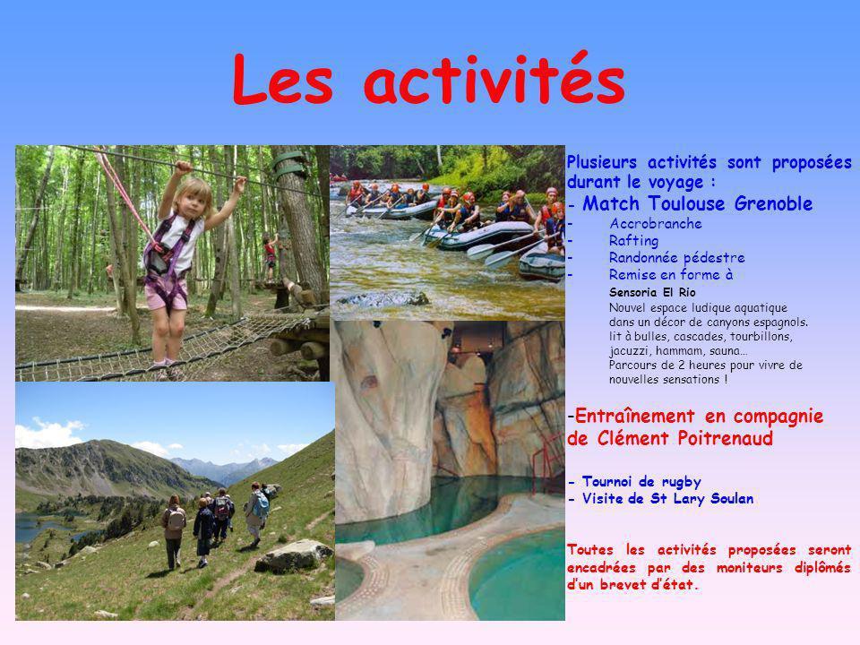 Les activités Entraînement en compagnie de Clément Poitrenaud
