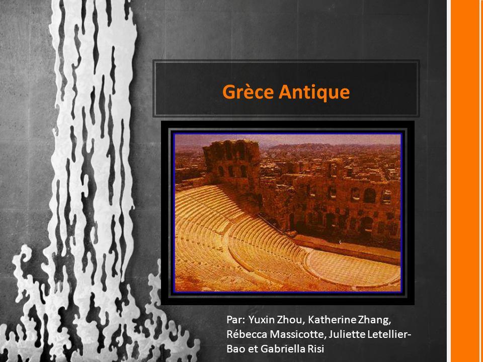 Grèce Antique Ce modèle peut servir de fichier de démarrage pour un album photo.