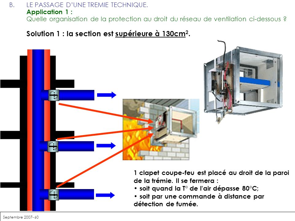 Gaine de ventilation coupe feu ordinateur - Gaine technique coupe feu ...