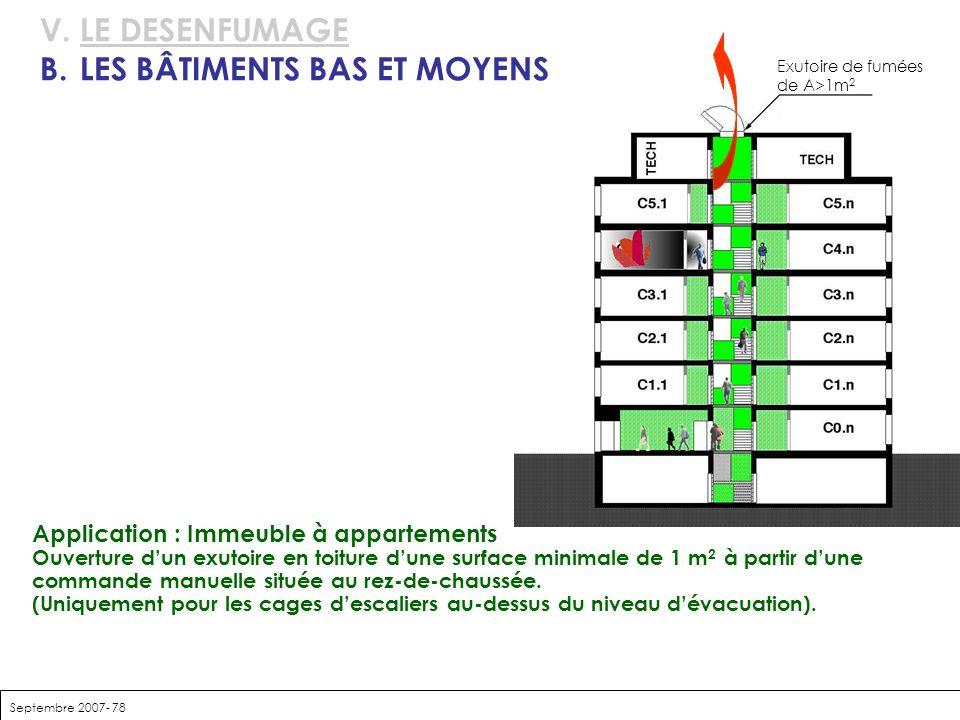 B. LES BÂTIMENTS BAS ET MOYENS