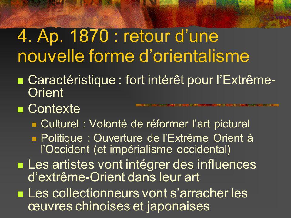 4. Ap. 1870 : retour d'une nouvelle forme d'orientalisme