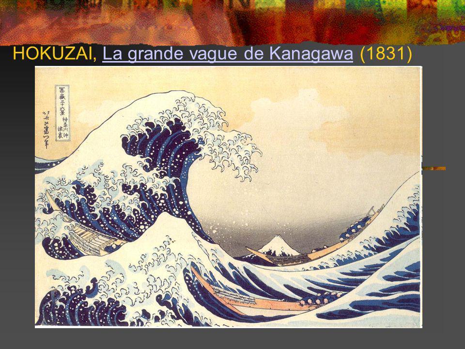 HOKUZAI, La grande vague de Kanagawa (1831)