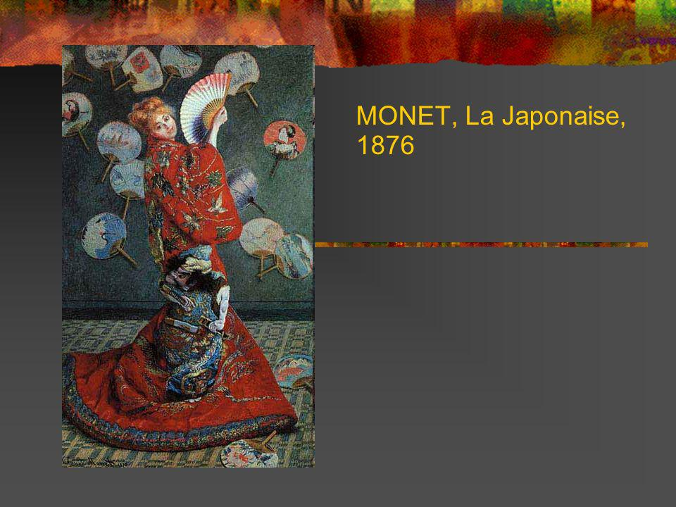 MONET, La Japonaise, 1876