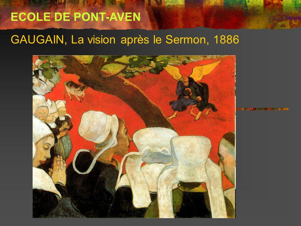 GAUGAIN, La vision après le Sermon, 1886