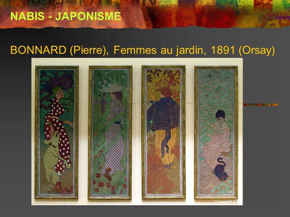 BONNARD (Pierre), Femmes au jardin, 1891 (Orsay)