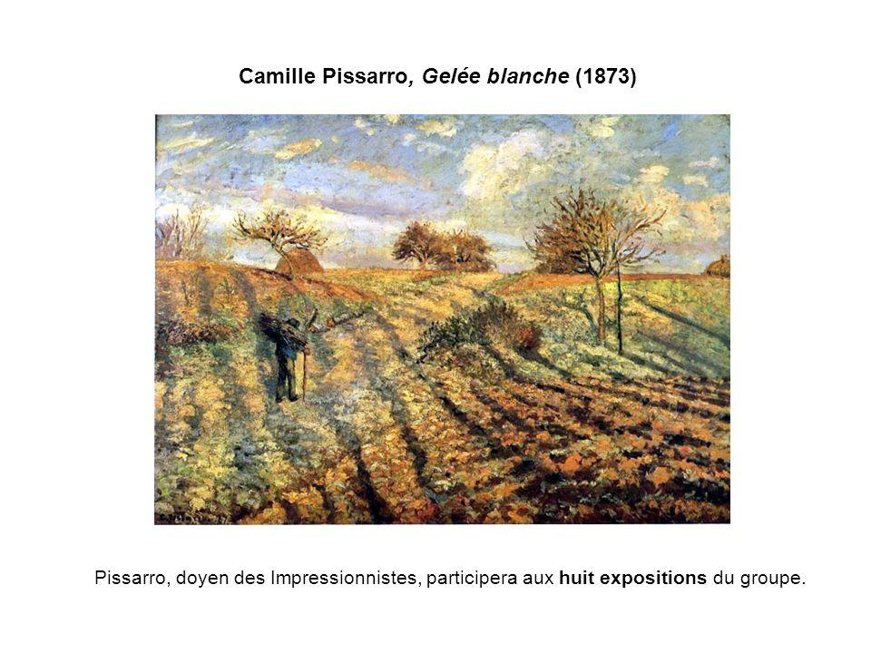 Camille Pissarro, Gelée blanche (1873)