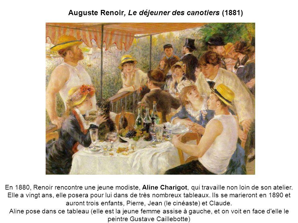 Auguste Renoir, Le déjeuner des canotiers (1881)