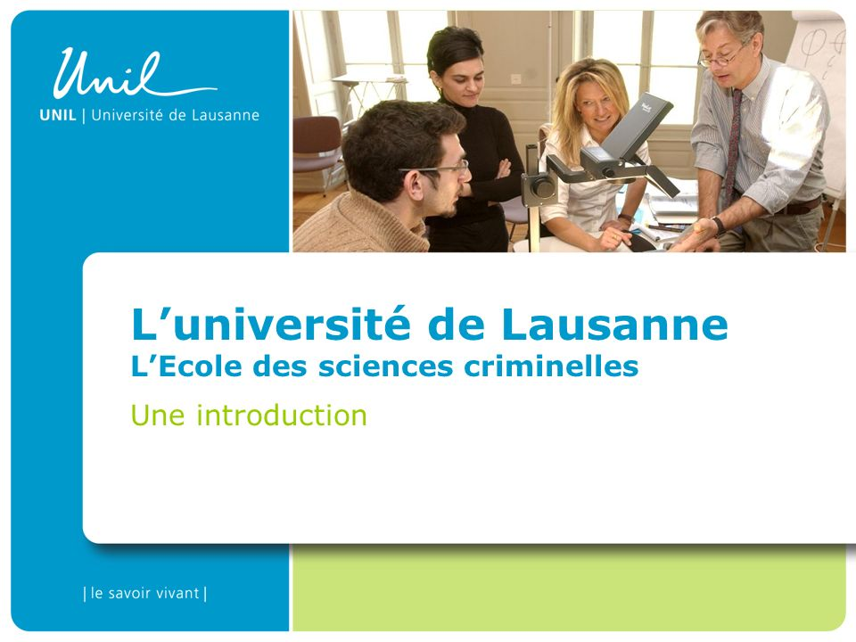 The University of Lausanne