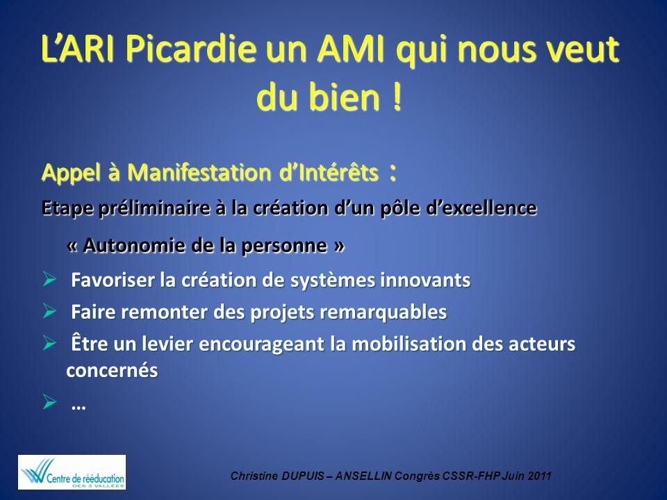 L'ARI Picardie un AMI qui nous veut du bien !