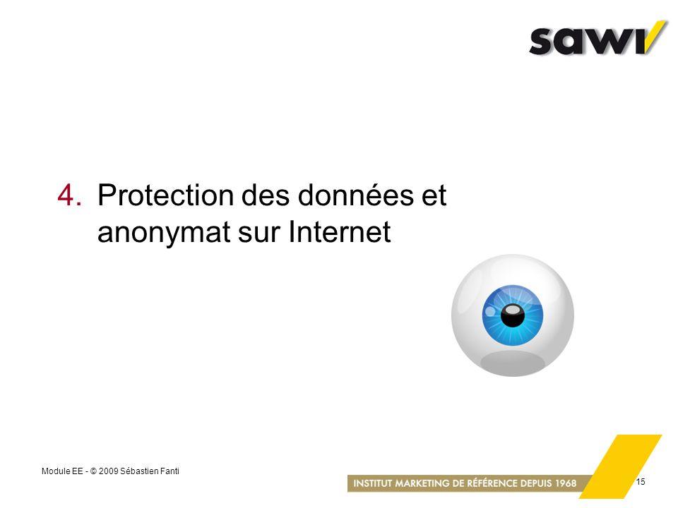 4. Protection des données et anonymat sur Internet