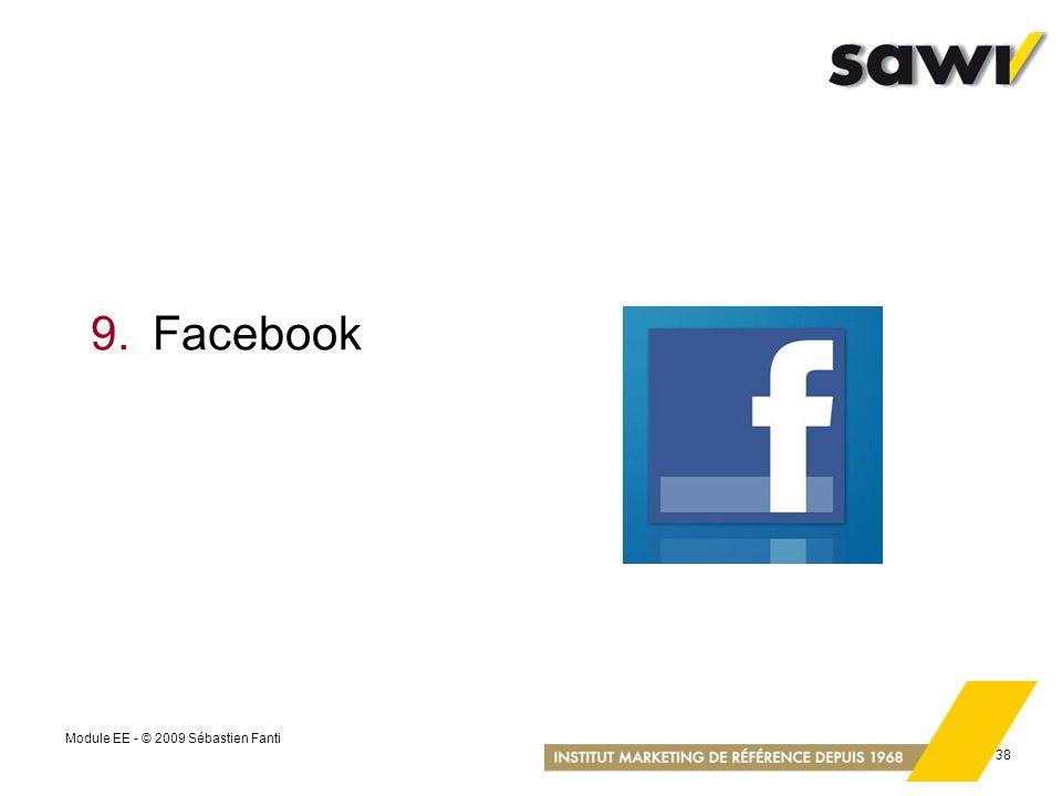 9. Facebook Module EE - © 2009 Sébastien Fanti