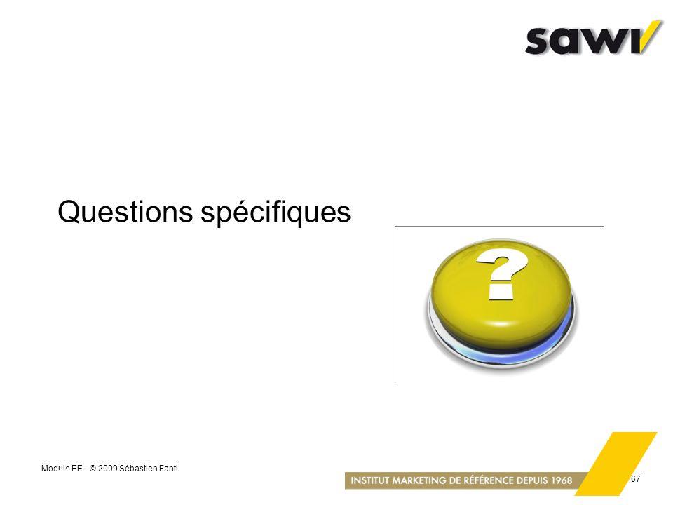 Questions spécifiques