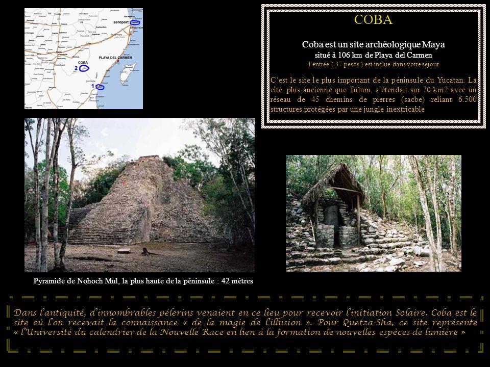 COBA Coba est un site archéologique Maya