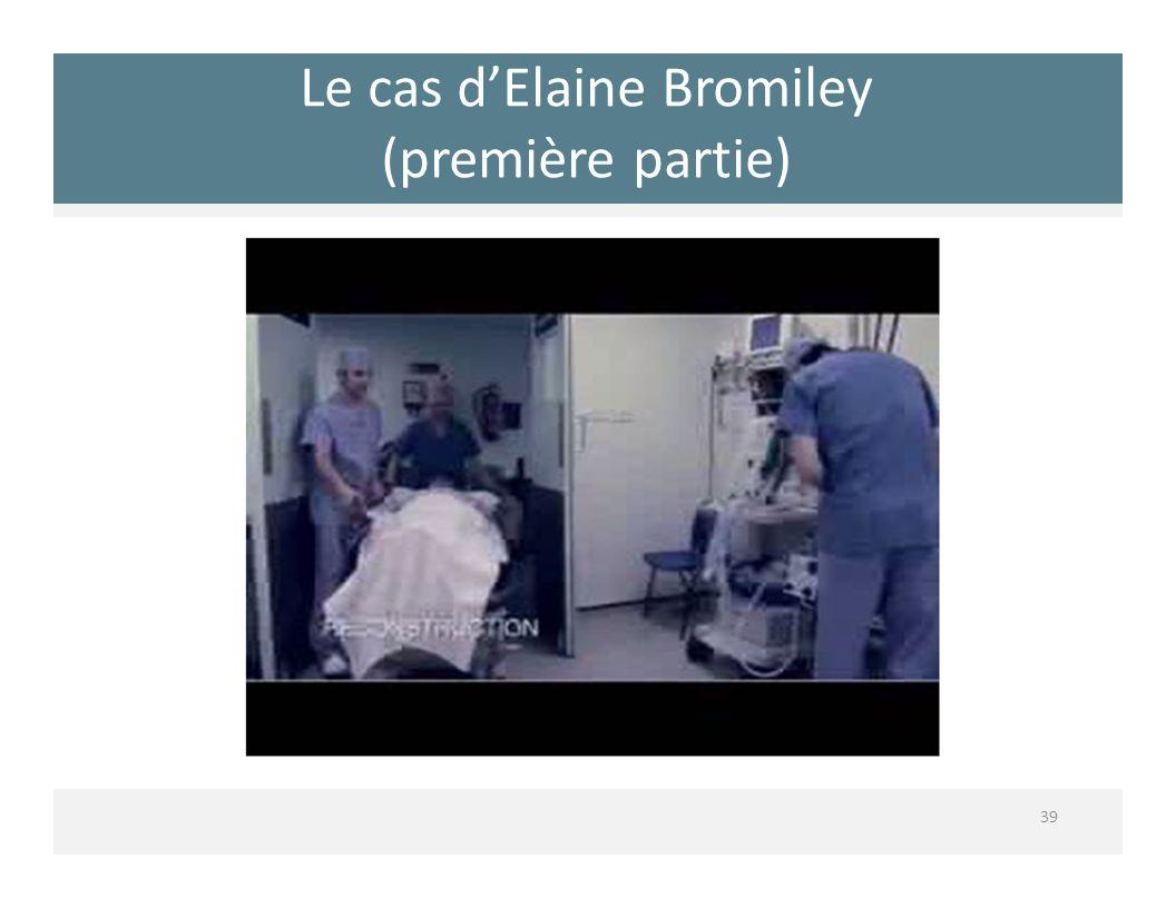 Le cas d'Elaine Bromiley (première partie)