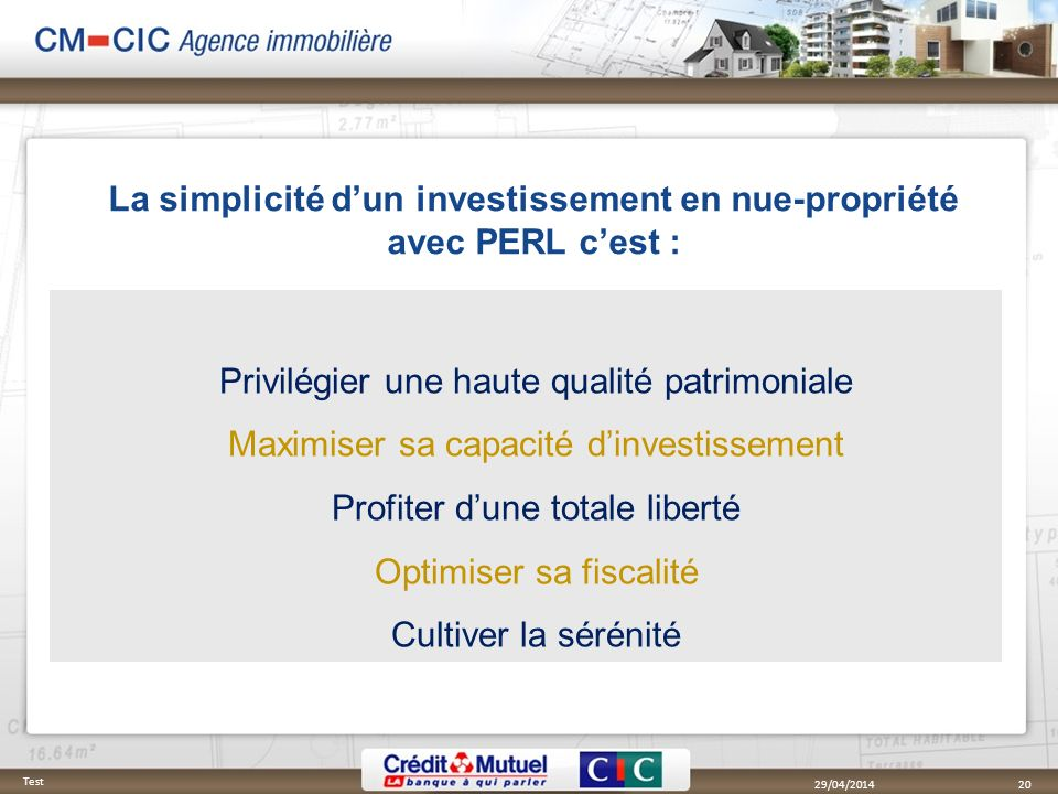 La simplicité d'un investissement en nue-propriété avec PERL c'est :