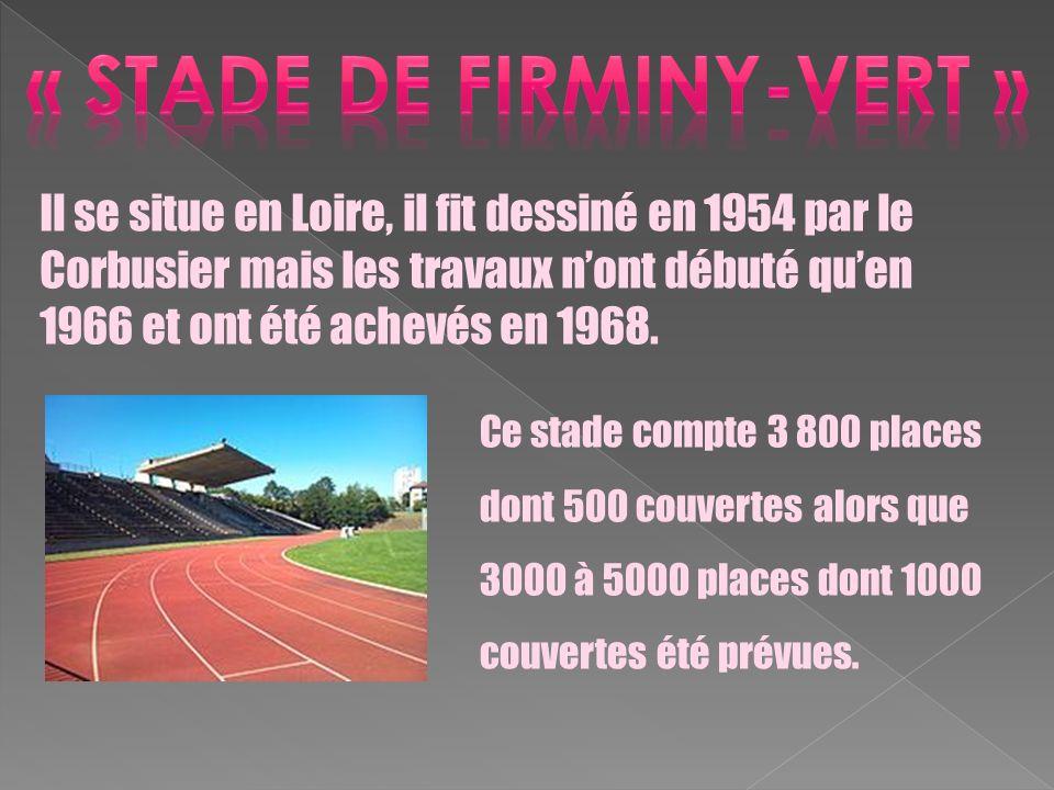 « stade de fiRminy-vert »