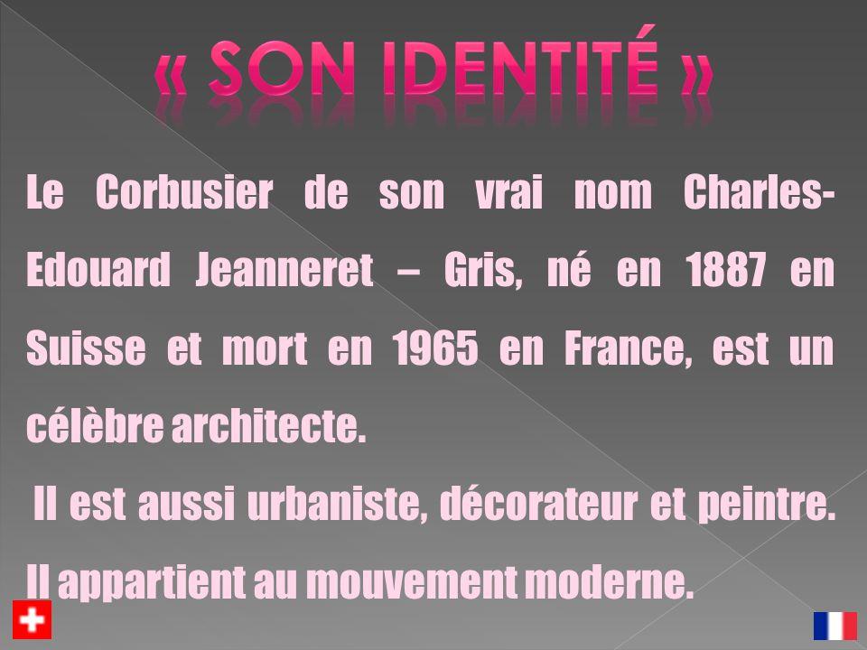 « son identité »