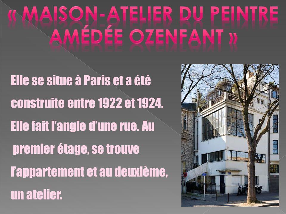 « Maison-atelier du peintre amédée ozenfant »