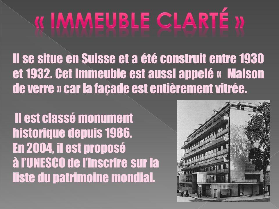 « immeuble clarté »