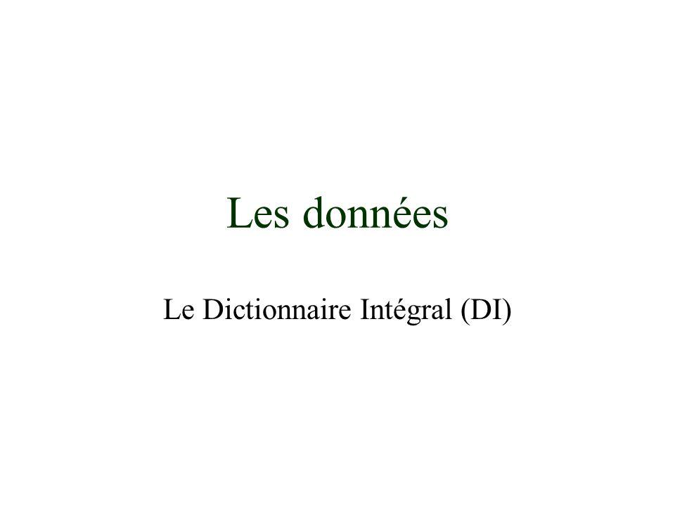 Le Dictionnaire Intégral (DI)