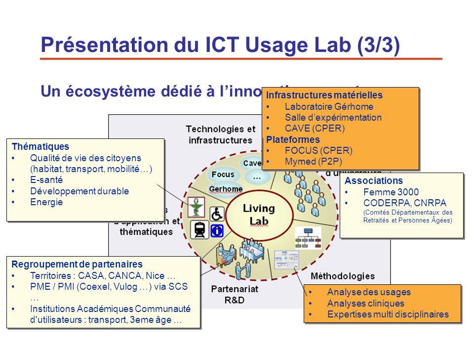 Présentation du ICT Usage Lab (3/3)