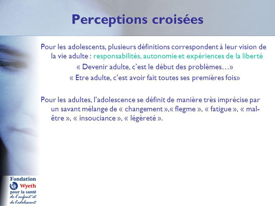 Perceptions croisées