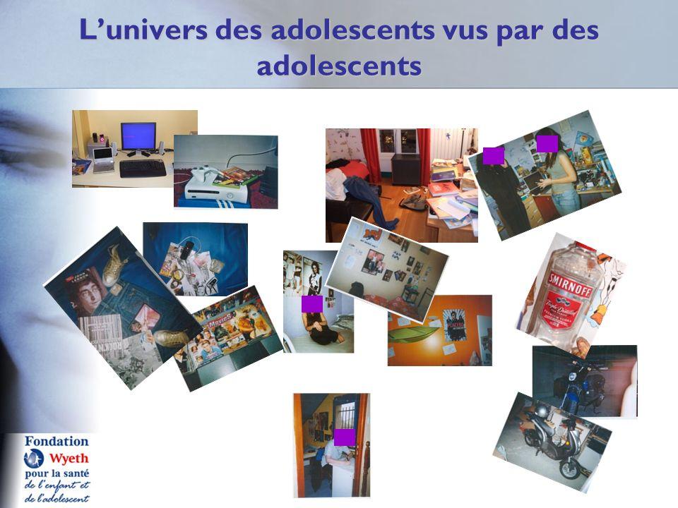 L'univers des adolescents vus par des adolescents