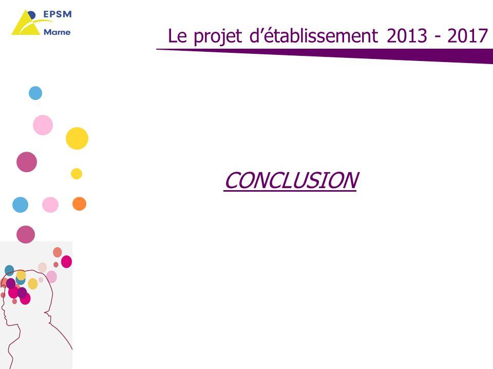 Le projet d'établissement 2013 - 2017