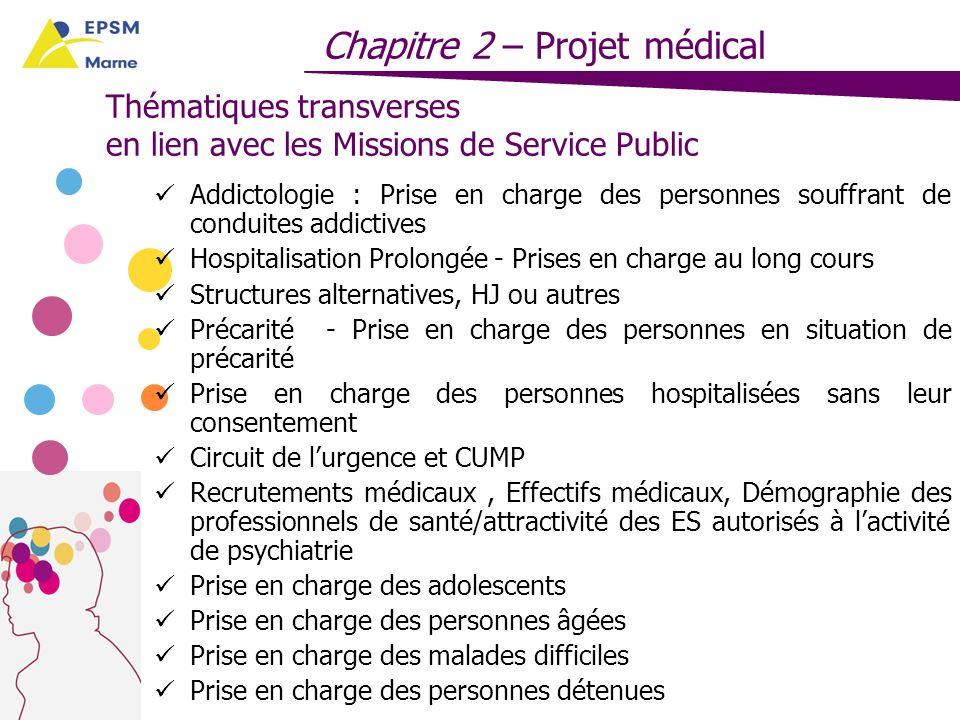 Thématiques transverses en lien avec les Missions de Service Public