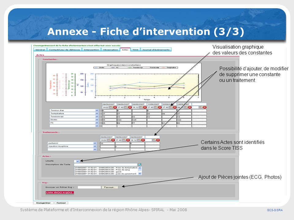 Annexe - Fiche d'intervention (3/3)