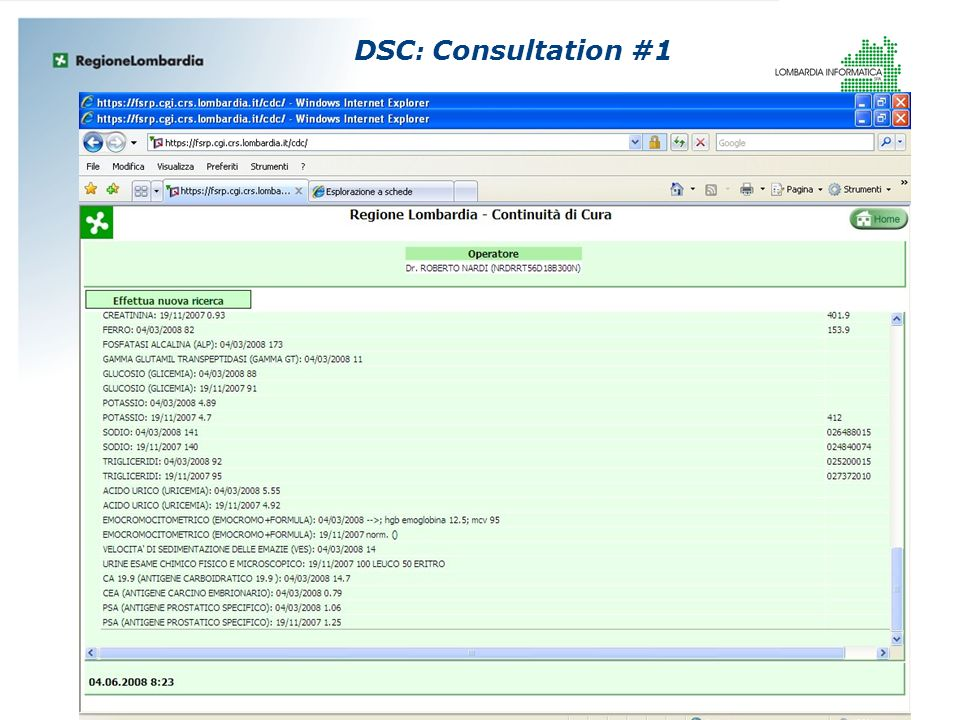 DSC: Consultation #1