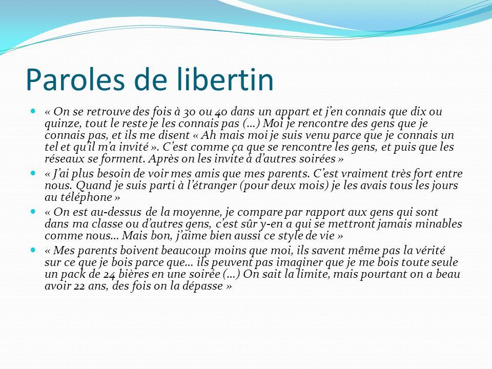 Paroles de libertin