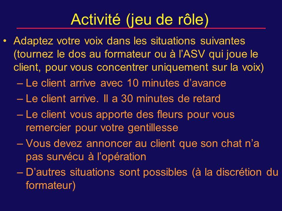 Activité (jeu de rôle)