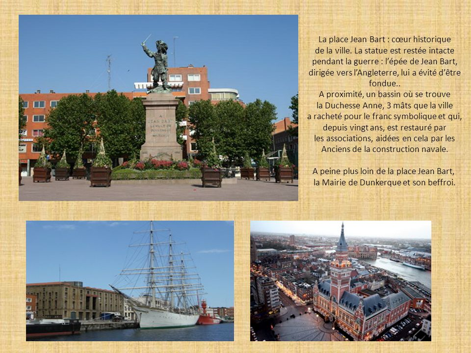 La place Jean Bart : cœur historique