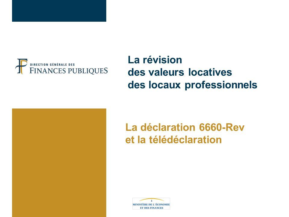 La révision des valeurs locatives des locaux professionnels